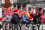 Minister Jimmy deenihan starting the Jingle run on Sunday