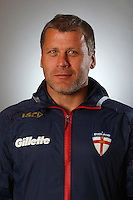 PICTURE BY VAUGHN RIDLEY/SWPIX.COM - Rugby League - England Rugby League Headshots - UCLan Sports Arena, Preston, England - 23/10/12 - England's James Lowes.