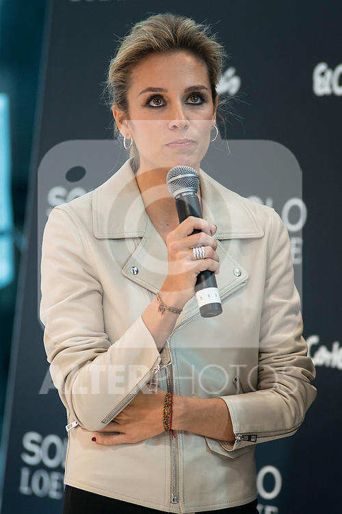 Alejandra Silva during the presentation of the new perfume SOLO LOEWE Cedro at El Corte Ingles Castellana in Madrid, October 06, 2015.<br /> (ALTERPHOTOS/BorjaB.Hojas)