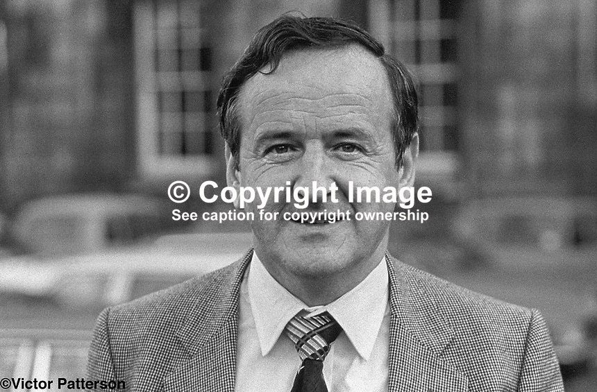 Albert Reynolds, Fianna Fail, TD, Minister, Rep of Ireland, 198002000029b..Copyright Image from Victor Patterson, 54 Dorchester Park, Belfast, UK, BT9 6RJ..Tel: +44 28 9066 1296.Mob: +44 7802 353836.Voicemail +44 20 8816 7153.Skype: victorpattersonbelfast.Email: victorpatterson@mac.com.Email: victorpatterson@ireland.com (back-up)..IMPORTANT: If you wish to use this image or any other of my images please go to www.victorpatterson.com and click on the Terms & Conditions. Then contact me by email or phone with the reference number(s) of the image(s) concerned.