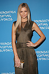 Wilhelmina Model Danielle Knudson Wearing Vionnet at the Foundation Fighting Blindness World Gala Held at Cipriani downtown located at 25 Broadway