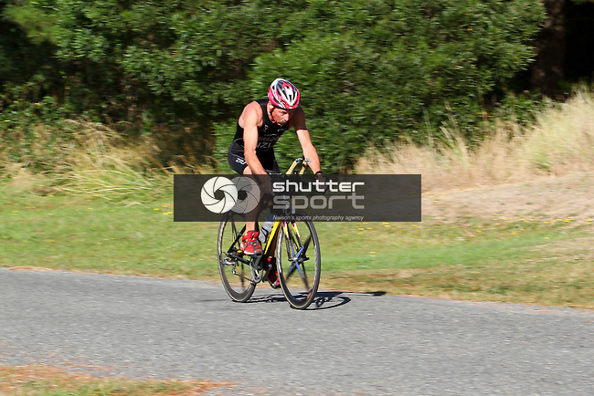 Summer Sprint Triathlon Series: Race 3, 24/02/13, Rabbit Island, Nelson, New Zealand<br /> Photo: Marc Palmano/shuttersport.co.nz