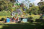 Children's playground in Victoria park, Nuwara Eliya, Sri Lanka, Asia