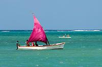 MUS, Mauritius, Grand Gaube: junge Einheimische beim Segeln | MUS, Mauritius, Grand Gaube: young locals sailing