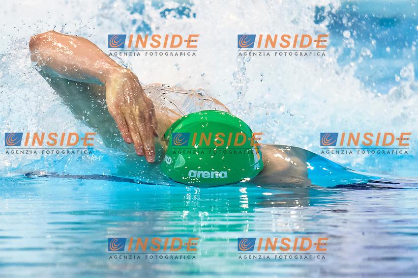 Jordan SLOAN IRL<br /> 100m Freestyle Preliminary<br /> London, Queen Elizabeth II Olympic Park Pool <br /> LEN 2016 European Aquatics Elite Championships <br /> Swimming<br /> Day 11 19-05-2016<br /> Photo Andrea Staccioli/Deepbluemedia/Insidefoto