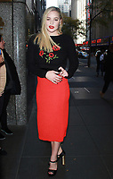 NEW YORK, NY - NOVEMBER 10: Abbie Cornish seen after an appearance on New York Live in New York City on November 10, 2017. Credit: RW/MediaPunch /NortePhoto.com