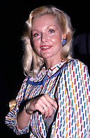 ***FILE PHOTO*** Carol Lynley Has Passed Away At 77 Years Of Age.<br /> Carol Lynley on September 1, 1986 in New York City. <br /> CAP/MPI/WM<br /> ©WM/MPI/Capital Pictures