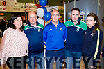 Cathy McCarthy, John Keating, Haulie Kerins, Tim Lynch and Roz Lynch, pictured at the Tralee Enterprise Town Community, Sport and Business Expo at Tralee Sports Complex on Saturday morning last.