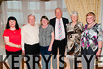 Listowel Active Retirement Party: Pictured at the Listowel Active retirement party at the Listowel Arms Hotel on Sunday last were Rose Moriarity, John Joe Herlihy, Phil Fealey, John & Noreen Dowling & Kitty McElligot.