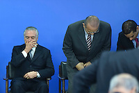 BRASÍLIA, DF, 08.06.2016 – AGENDA-TEMER – O presidente em exercício Michel Temer durante reunião com empresários na manhã desta quarta-feira, 08, no Palácio do Planalto. (Foto: Ricardo Botelho/Brazil Photo Press)