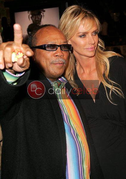 Quincy Jones and friend<br />at the world premiere of &quot;Get Rich Or Die Tryin&quot;. Graumans Chinese Theatre, Hollywood, CA. 11-02-05<br />Dave Edwards/DailyCeleb.com 818-249-4998