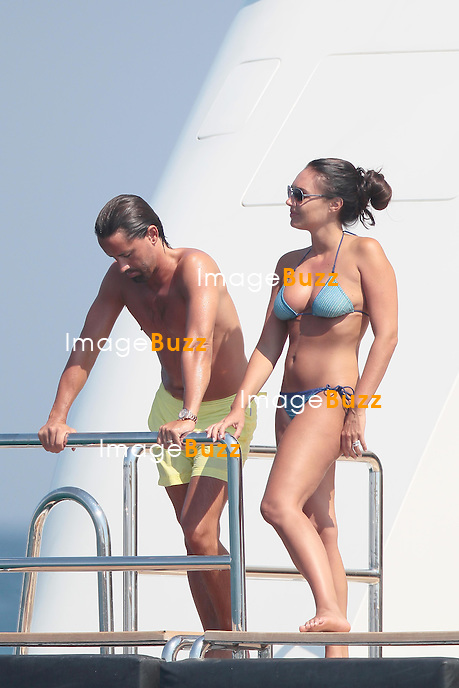 TAMARA ECCLESTONE & JAY RUTLAND ON HONEYMOON IN SAINT TROPEZ - June 14, 2013-Tamara Ecclestone and new husband Jay Ruttland enjoying their honeymoon in Saint-Tropez, aboard their luxurious $370,000 'Silver Angel' yacht per week.