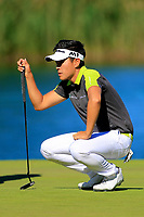 Daniel Im (USA) during the second round of the Lyoness Open powered by Organic+ played at Diamond Country Club, Atzenbrugg, Austria. 8-11 June 2017.<br /> 09/06/2017.<br /> Picture: Golffile | Phil Inglis<br /> <br /> <br /> All photo usage must carry mandatory copyright credit (&copy; Golffile | Phil Inglis)