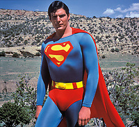 Superman (1978) <br /> Christopher Reeve<br /> *Filmstill - Editorial Use Only*<br /> CAP/KFS<br /> Image supplied by Capital Pictures