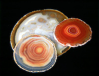 AGATE - Form of Quartz (SiO2)<br />