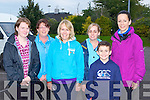 Christine O'Sullivan, Glenbeigh, Geraldine Teahan Cromane, Jancinta Sheehan Killorglin, Nikita Sheehan Killorglin and Scott and Lisa O'Meara Killarney who completed the Old Kenmare Road Walk in aid of the MS Society on Sunday