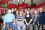Vincent O'Leary, seated second from left, celebrated his 30th birthday with his family and friends in Christie's Well Bar Listowel on Friday night.