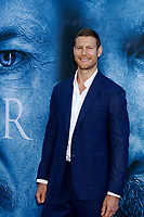 "LOS ANGELES - JUL 12:  Tom Hopper at the ""Game of Thrones"" Season 7 Premiere Screening at the Walt Disney Concert Hall on July 12, 2017 in Los Angeles, CA"