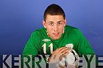 Tralee Soccer Player Bill Dennehy.