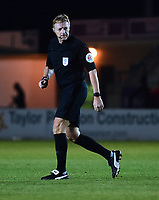 Referee Trevor Kettle<br /> <br /> Photographer Andrew Vaughan/CameraSport<br /> <br /> The EFL Checkatrade Trophy Northern Group H - Lincoln City v Wolverhampton Wanderers U21 - Tuesday 6th November 2018 - Sincil Bank - Lincoln<br />  <br /> World Copyright © 2018 CameraSport. All rights reserved. 43 Linden Ave. Countesthorpe. Leicester. England. LE8 5PG - Tel: +44 (0) 116 277 4147 - admin@camerasport.com - www.camerasport.com