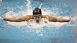 19 MAR 2016: Kelsi Worrell of Louisville competes in the 200 Yard Butterfly final during the Division I Women's Swimming & Diving Championship held at the Georgia Tech Aquatic Center in Atlanta, GA. David Welker/NCAA Photos