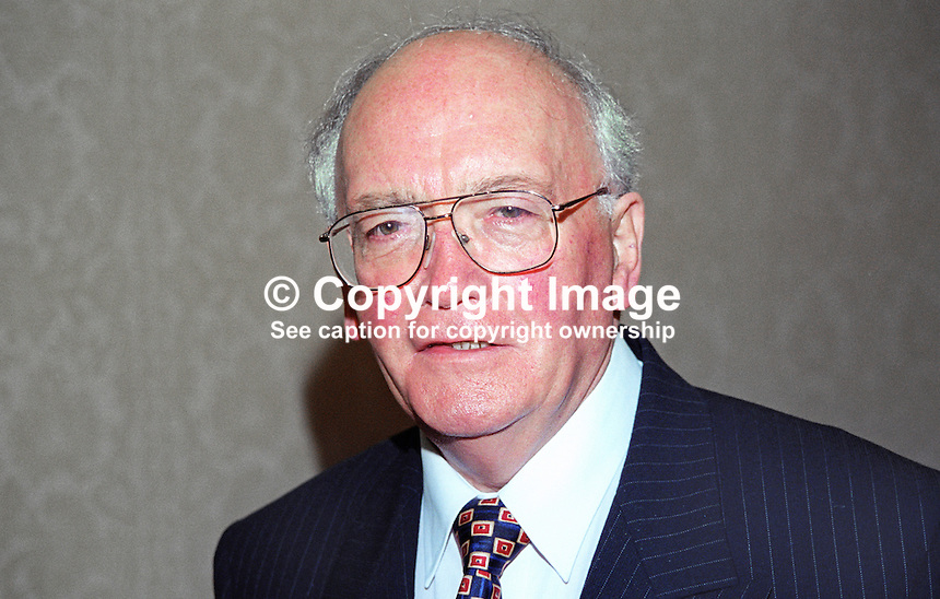 Sam Foster, Ulster Unionist, MLA, N Ireland, UK, 199910326.<br />