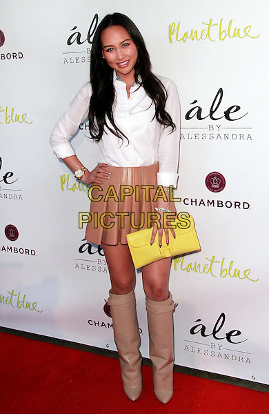 13 March 2014 - Beverly Hills, California - Dorothy Wang. Alessandra Ambrosio. Alessandra Ambrosio Launch of &quot;ale by Alessandra&quot; held at Planet Blue.  <br /> CAP/ADM/TB<br /> &copy;Theresa Bouche/AdMedia/Capital Pictures