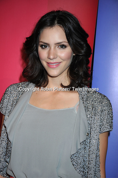 """Katharine McPhee of new NBC show """"Smash"""" attending The NBC Upfront Presentation of the 2011-2012 Primetime Season on May 16, 2011 at The New York Hilton in New York City."""