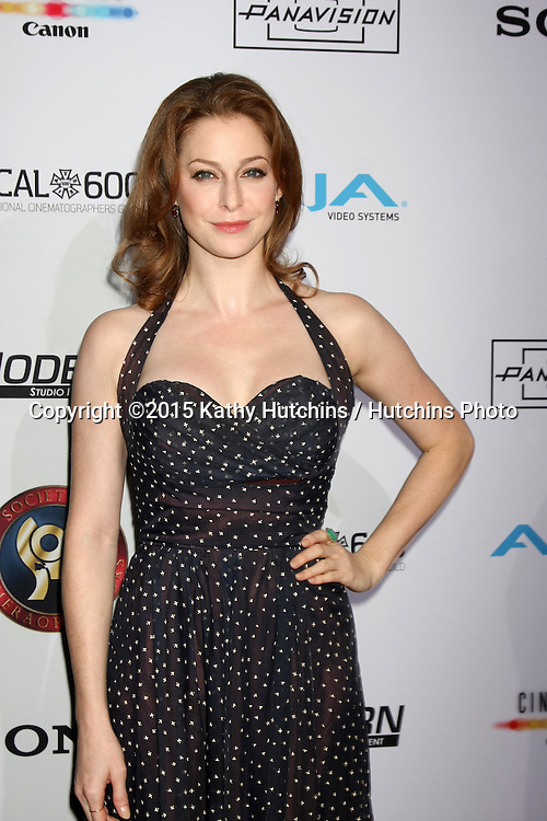 LOS ANGELES - FEB 8:  Esme Bianco at the 2015 Society Of Camera Operators Lifetime Achievement Awards at a Paramount Theater on February 8, 2015 in Los Angeles, CA