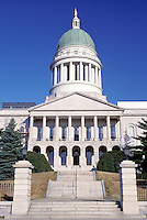 State House, State Capitol, Augusta, Maine, ME, The State House in Augusta.