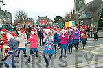 8th December Parade: Scoil an Chlochair ceile band taking part in the parade in Listowel on Sunday last to take part in the annual 8th December parade.