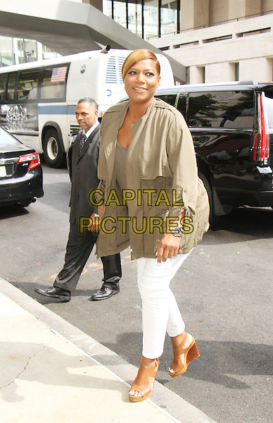 NEW YORK, NY-July 07: Queen Latifah at screening of 20th Century Fox presents ICE AGE: Collision Course  at Walter Reade Theatre in New York. NY July 07, 2016. <br /> CAP/MPI/RW<br /> &copy;RW/MPI/Capital Pictures