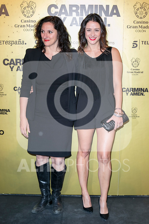 "Maria Morales and Luz Valdenebro attend the Premiere of the movie ""Carmina y Amen"" at the Callao Cinema in Madrid, Spain. April 28, 2014. (ALTERPHOTOS/Carlos Dafonte)"