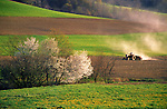 PA landscapes, farm, spring, Pennsylvania