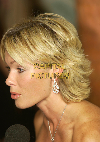 NELL McANDREW.UK FIFI Awards of the fragrance foundation.The Dorchester Hotel.London, 25 April 2005.portrait headshot funny profile side.Ref: PL.www.capitalpictures.com.sales@capitalpictures.com.©Capital Pictures