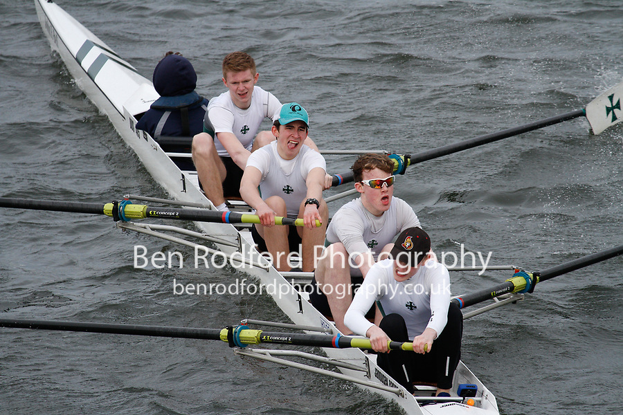 Crew: 300  Durham Sch  Event: Junior Fours<br /> <br /> Schools' Head of the River 2017<br /> <br /> To purchase this photo, or to see pricing information for Prints and Downloads, click the blue 'Add to Cart' button at the top-right of the page.