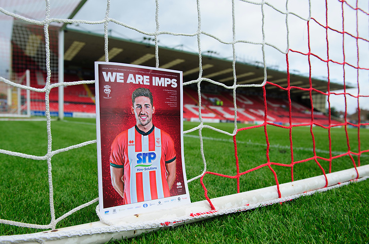 A close up of Lincoln City match day magazine 'We Are Imps'<br /> <br /> Photographer Chris Vaughan/CameraSport<br /> <br /> Football Pre-Season Friendly - Lincoln City v Sheffield Wednesday - Saturday July 13th 2019 - Sincil Bank - Lincoln<br /> <br /> World Copyright © 2019 CameraSport. All rights reserved. 43 Linden Ave. Countesthorpe. Leicester. England. LE8 5PG - Tel: +44 (0) 116 277 4147 - admin@camerasport.com - www.camerasport.com