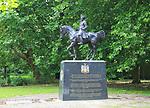Maharajah Duleep Singh sculpture, Thetford, Norfolk, England, UK by Denise Dutton 1999
