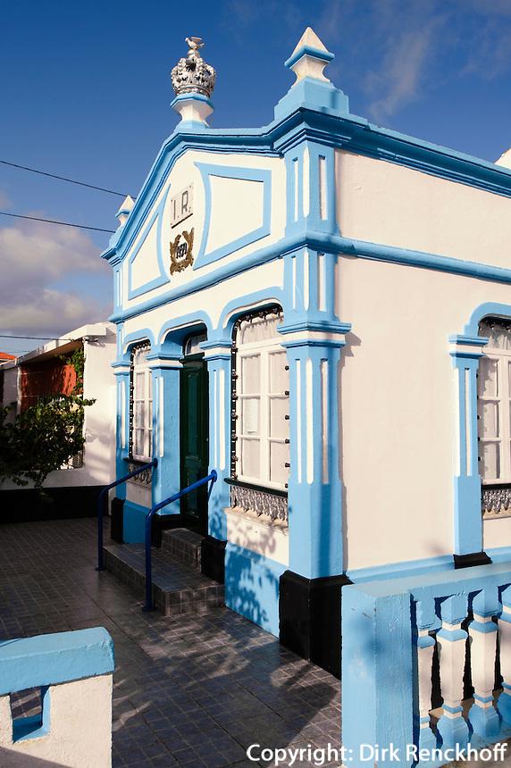 Heiliggeisttempel (Imperio)  in Angra do Heroismo auf der Insel Terceira, Azoren, Portugal