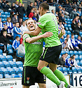 19/09/2010   Copyright  Pic : James Stewart.sct_jsp010_kilmarnock_v_celtic  .:: ANTHONY STOKES IS CONGRATULATED BY CHA DU-RI AFTER HE SCORES CELTIC'S SECOND ::.James Stewart Photography 19 Carronlea Drive, Falkirk. FK2 8DN      Vat Reg No. 607 6932 25.Telephone      : +44 (0)1324 570291 .Mobile              : +44 (0)7721 416997.E-mail  :  jim@jspa.co.uk.If you require further information then contact Jim Stewart on any of the numbers above.........