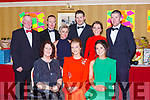 Enjoying the Kerry Hunt ball in the Killarney Avenue Hotel on Saturday night front row l-r: Angela McSweeney, Alanna Regan, Catherine O'Connor.Back row: Tom McSweeney, Noelle Tracey, Dan Sullivan, Rebecca Tracey and Johnny O'Connor