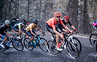 Michael Schär (SUI/CCC) racing in torrential rains up Il Piccolo Stelvio at <br /> Grande Trittico Lombardo 2020 (1.Pro/ITA)<br /> 1 day race from Legnano to Varese (200km)
