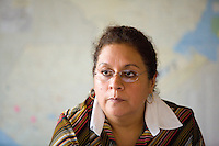 Alma de Estrada, project officer for women's rights in ActionAid, Guatemala Office.
