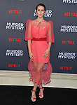 "Emma Fuhrmann 087 arrives at the LA Premiere Of Netflix's ""Murder Mystery"" at Regency Village Theatre on June 10, 2019 in Westwood, California"