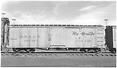 Tool car 04549 at Alamosa.<br /> D&amp;RGW  Alamosa, CO  Taken by Richardson, Robert W. - 1/18/1953