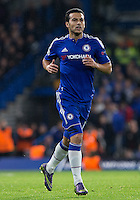 Pedro of Chelsea returns from injury to make an appearance from the bench during the UEFA Champions League Group G match between Chelsea and Dynamo Kyiv at Stamford Bridge, London, England on 4 November 2015. Photo by Andy Rowland.