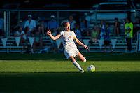 Kansas City, MO - Sunday September 11, 2016: Becky Sauerbrunn during a regular season National Women's Soccer League (NWSL) match between FC Kansas City and the Chicago Red Stars at Swope Soccer Village.