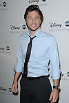 Zac Braff arriving at the Disney ABC Television Group All Star Party, that was held at the Beverly Hilton Hotel, Beverly Hills, Ca. July 17, 2008. Fitzroy Barrett