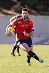 Spain's Federico Castiglioni during Rugby Europe Championship 2017 match between Spain and Belgium in Madrid. March 18, 2017. (ALTERPHOTOS/Borja B.Hojas)