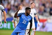 June 13th 2017, Stade de France, Paris, France; International football friendly, France versus England;  SAMUEL UMTITI (fra) celebrates his equaliser in the 22nd minute
